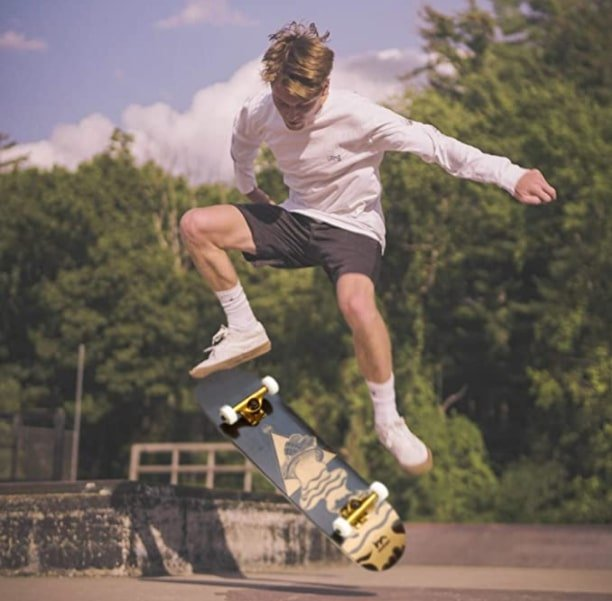 the most handsome skateboard in the world