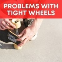How to loosen skateboard wheels without tools