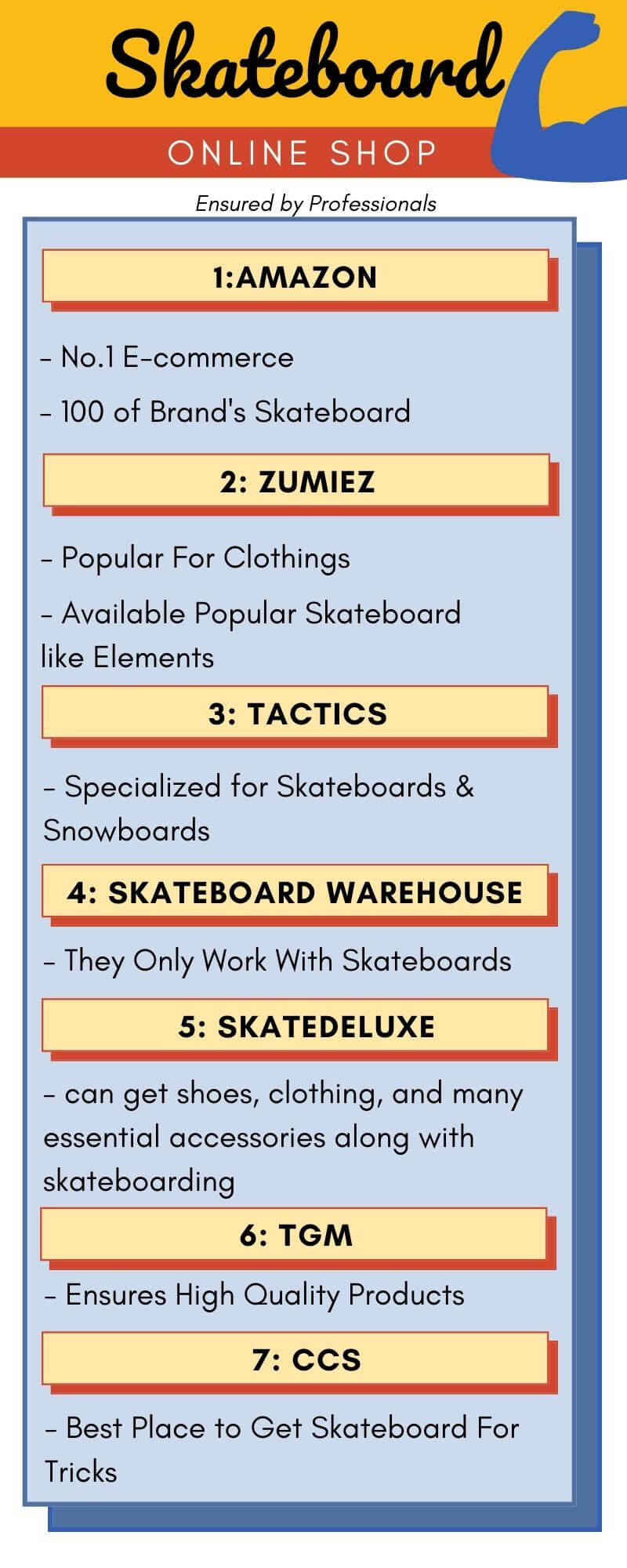 best place to buy skateboards online