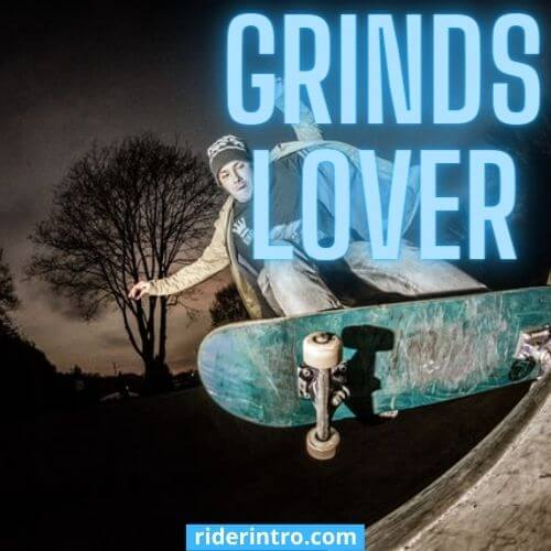 Types of skateboard grinds with pictures